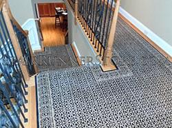 Hall And Stair Runners Custom Stair Runner Carpet Stair Runner | Custom Carpet Runners For Stairs | Wood | Stair Treads | Landing | Carpet Workroom | Flooring