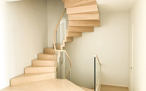 Modern Stairs Huge Collection Of Modern Staircases And | Simple Staircase Designs For Homes | Kitchen | Interior | Tiny | Simple 2Nd Floor House | Space Saving