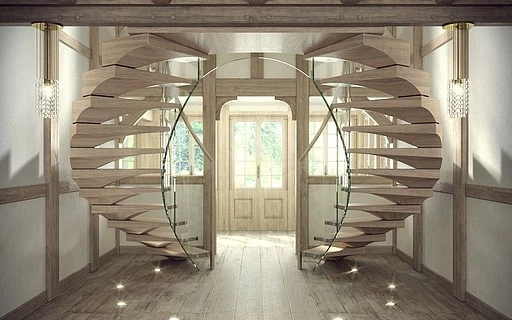 Modern Stairs Huge Collection Of Modern Staircases And   Main Entrance Stairs Design   Exterior   Backyard Patio   Patio   Front Yard   Traditional