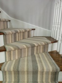 Striped Carpet For Stairs and Hallway North York