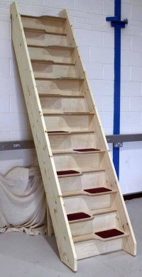 Alternating Tread Staircases / birch_24_spacesaver ...