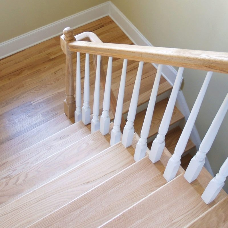 Use Maple Stair Treads For A Safer And Elegant Stairway   Prefinished Maple Stair Treads   Unfinished Maple   Hardwood Flooring   Prefinished Natural   Natural Maple   Hard Maple