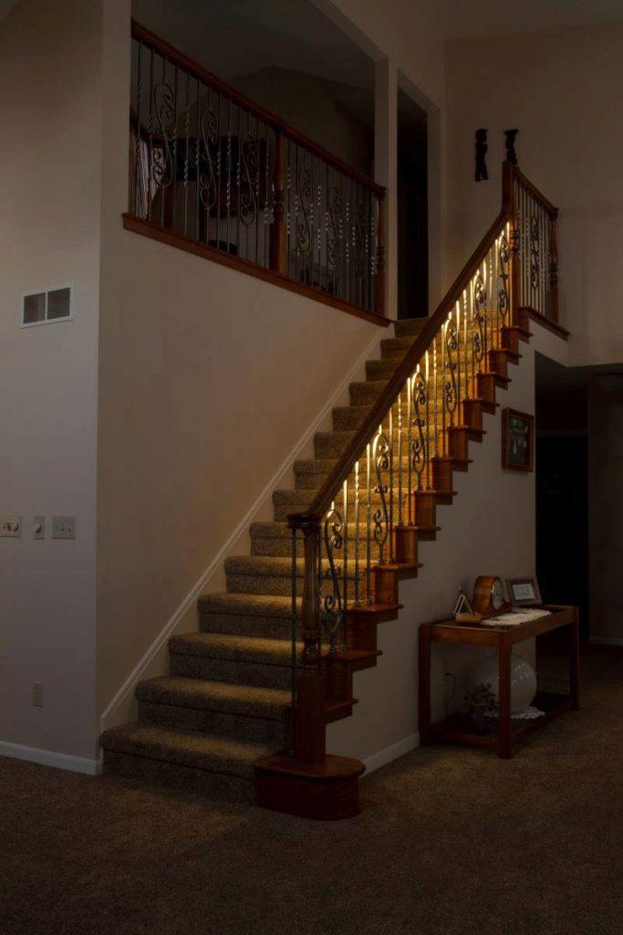 Lighted Stairway StairSupplies