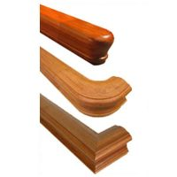 Wood Handrails for Stairs - Bending , Straight or Wall ...
