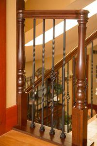 Project # 156 - Iron Balusters & Ornate Turned Newels ...