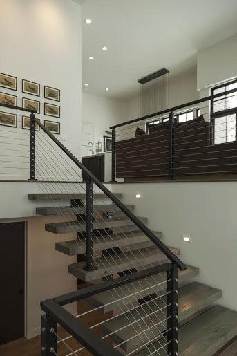 Metal Handrail 1 X 2 StairSupplies