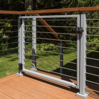 Cable Railing Posts: Stainless Steel & Powder Coated Posts