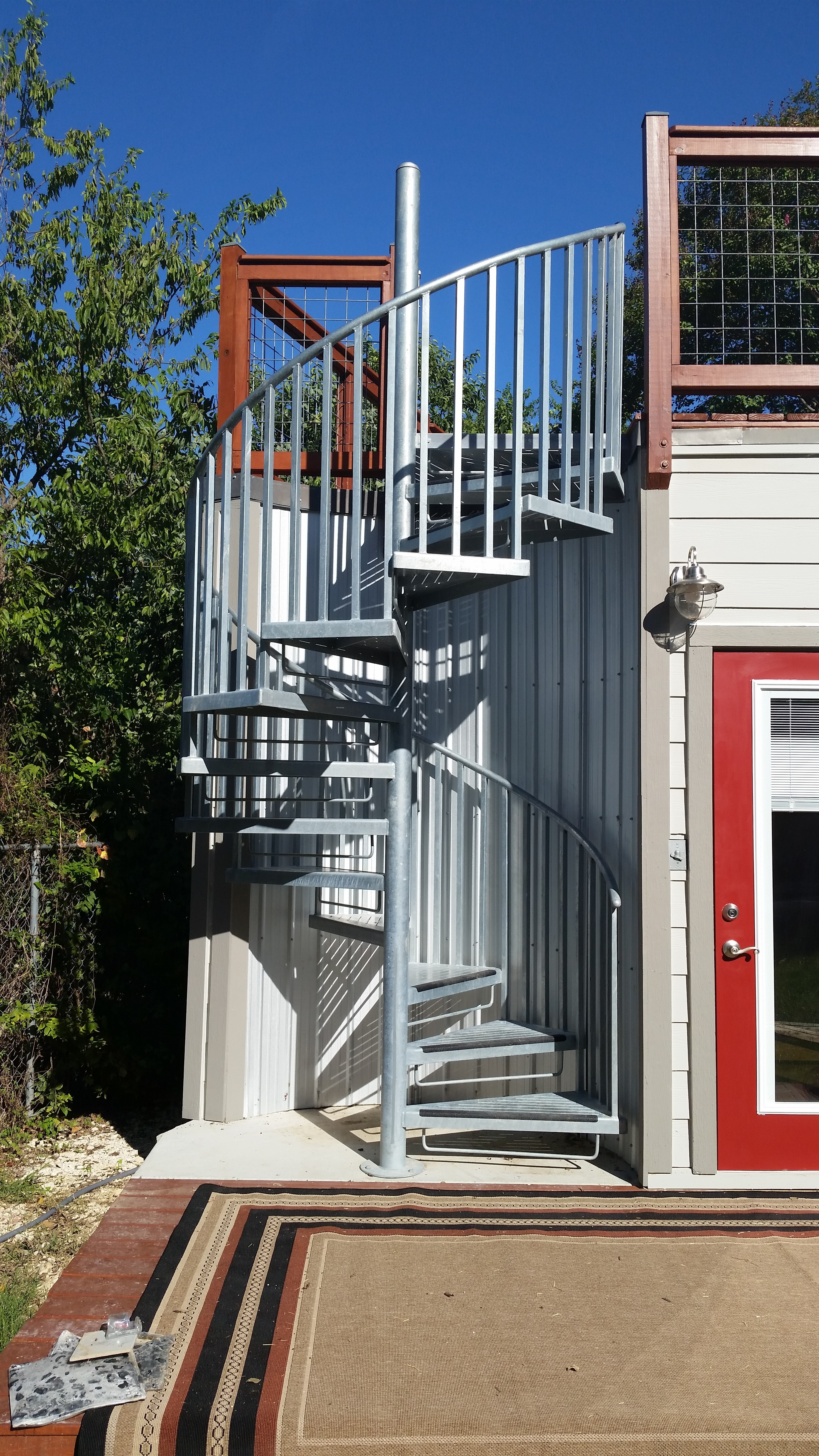 Residential Spiral Staircases Home Spiral Staircase | Outdoor Spiral Staircase Cost