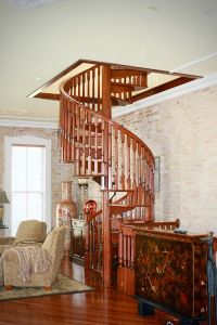 Spiral Stair Applications - Indoor Spiral Staircases ...