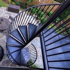 Spiral Staircase Kits Circular Spiral Stairs Kit Stairways Inc | 10 Ft Spiral Staircase | Handrail | 36 Tall | Arke Phoenix | Stair Kit | Arke Enduro