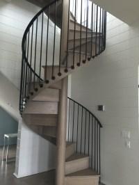 Spiral Staircase Materials | Stairways Inc