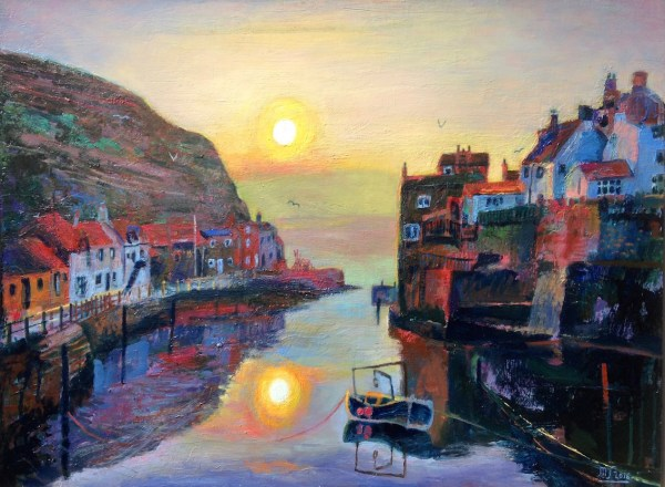 Current Painting Staithes