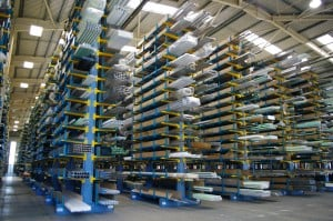 PVCu Extrusion Racking Systems  Stakapal Limited UK