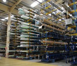 Aluminium Profile Storage and Racking  Stakapal Limited UK