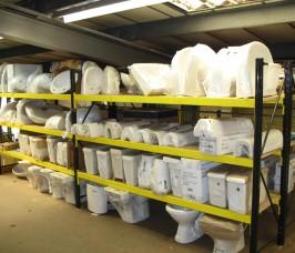 Sanitary Product Racking  Stakapal Limited UK
