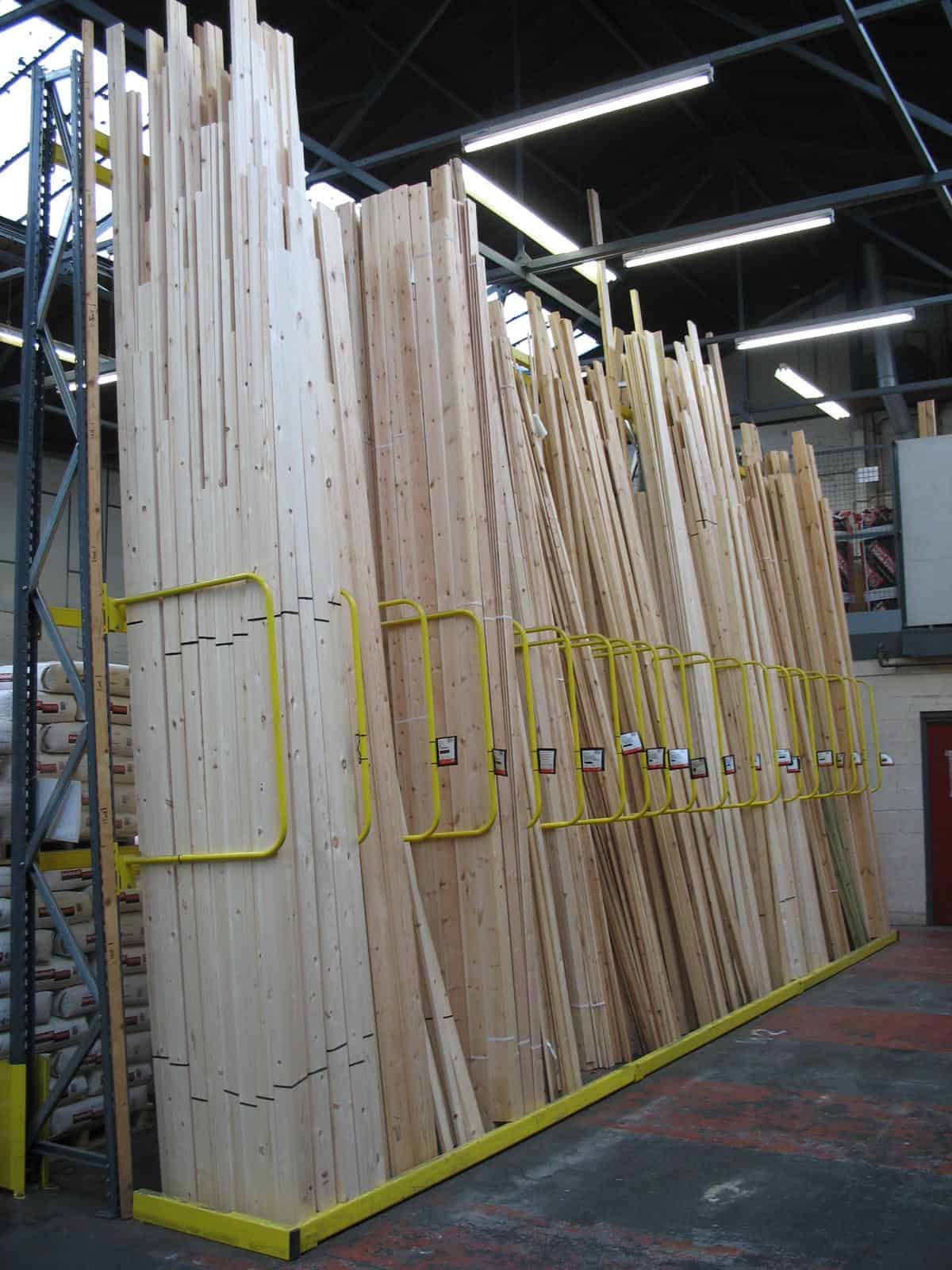 Hardwood Racking and Softwood Racking Systems  Stakapal Limited UK