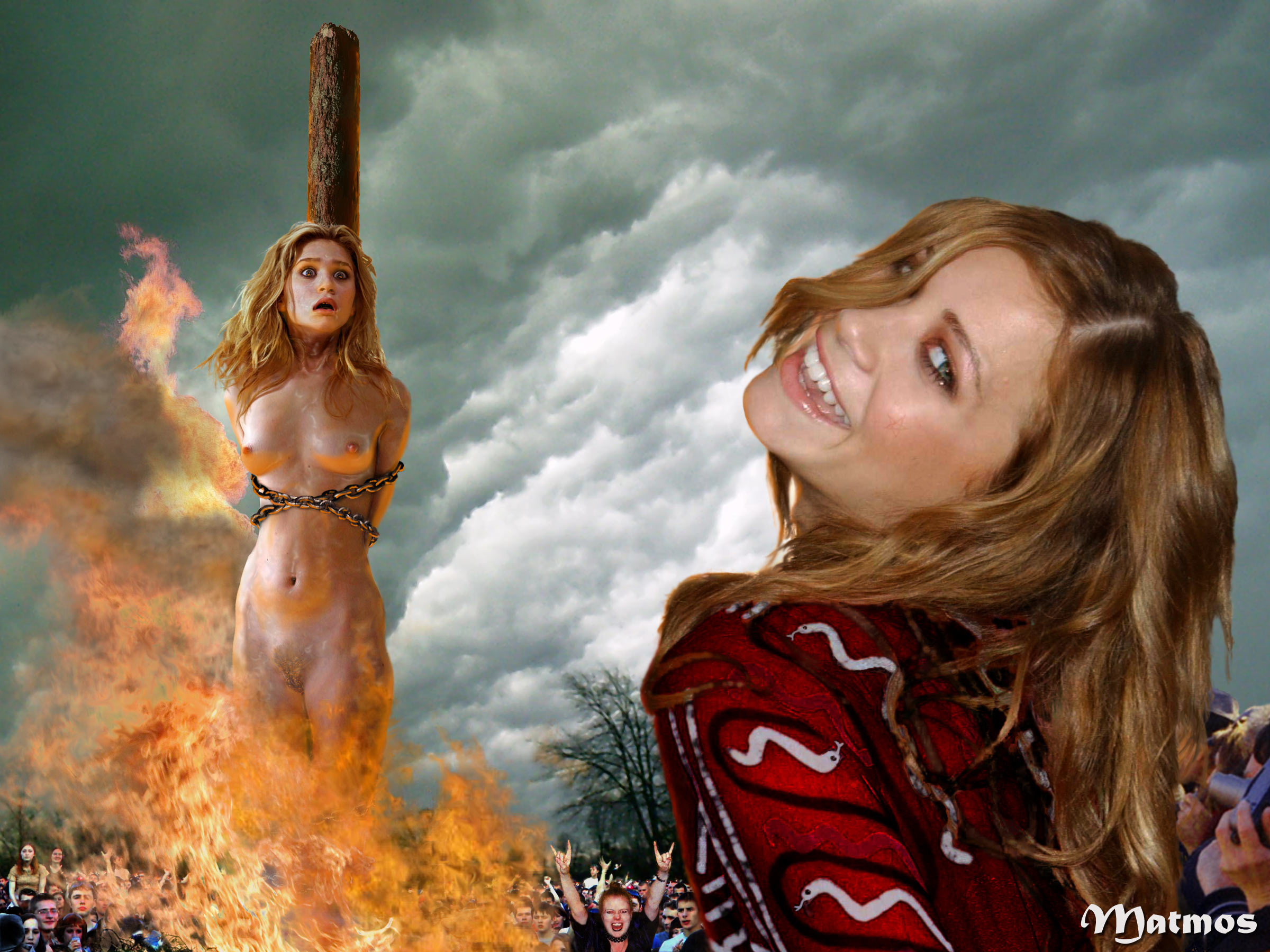Woman Burned Naked At The Stake | Free Hot Nude Porn Pic Gallery