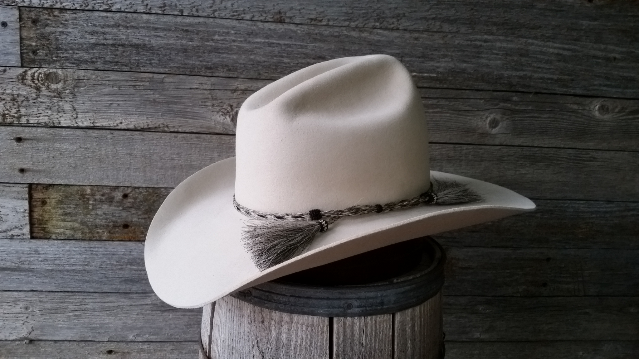 Different Creases Cowboy Hats