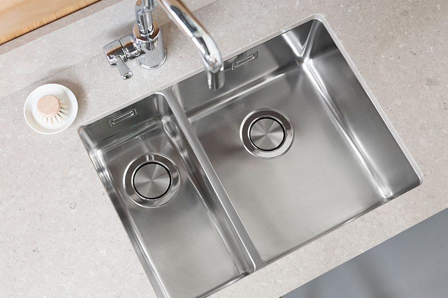 lagom 18 34 modern kitchen sink with 1