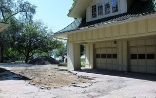 Restoration of the Driveway and Parking Lot at the A.E. Staley Home in Decatur, Illinois