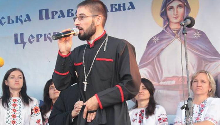 A Clergyman of the Kiev Patriarchate Promotes Hitler's