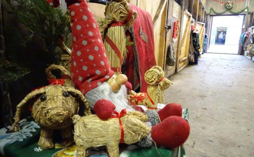 Julfest i stallet