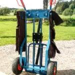 Sadelvagnen Alf, bakrifrån utan last.