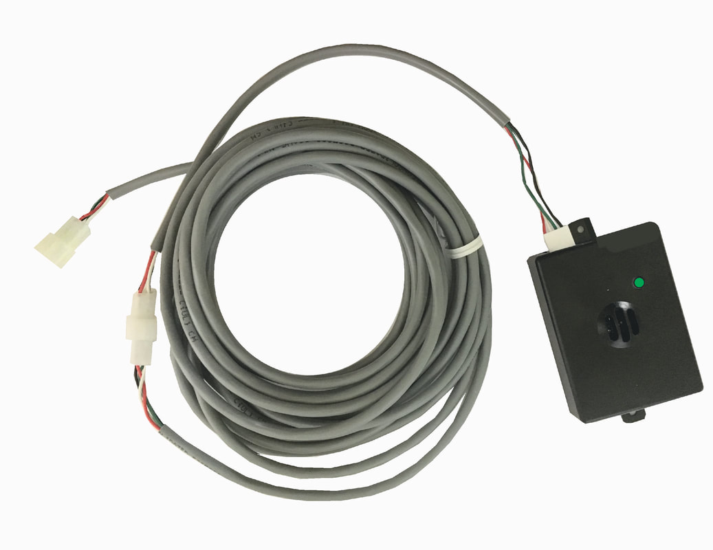 hight resolution of both detectors include a 20 ft connector wire and sensor block