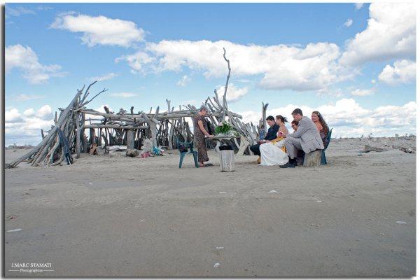 Cérémonie de mariage à la plage