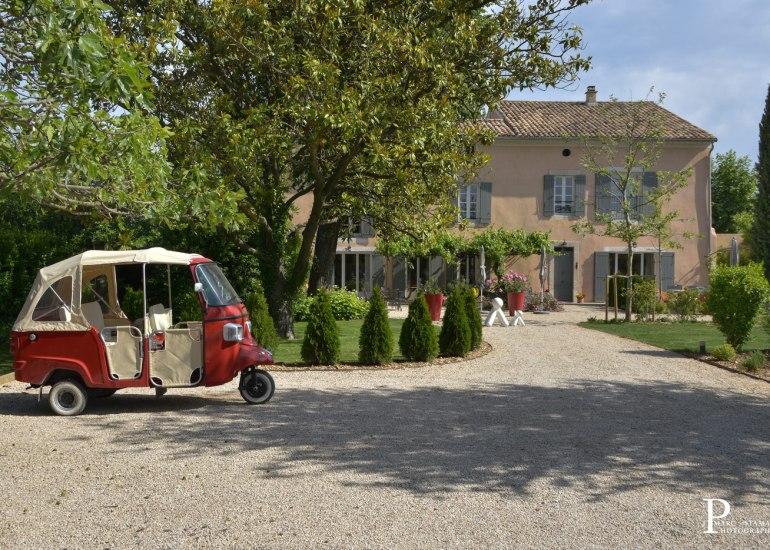 Photographe de chambres d'hôtes Avignon Provence