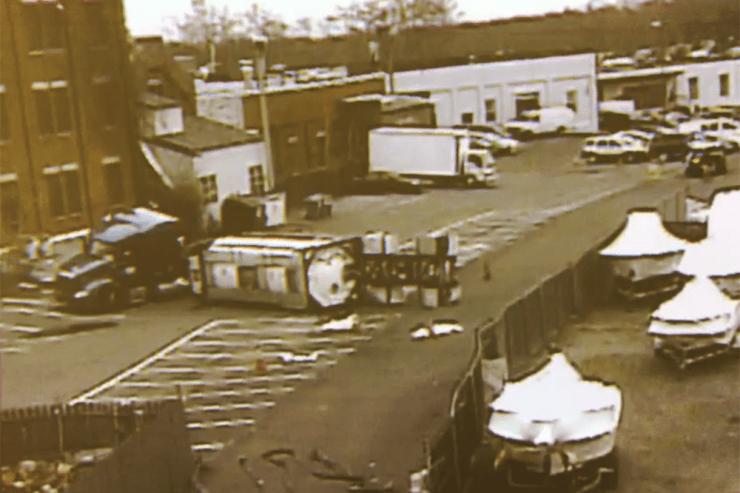 Tanker Truck Carrying Methyl Methacrylate Overturns In Stamford Industrial Park