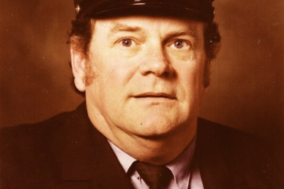 Firefighter Charles Haggerty