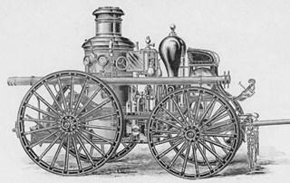 Steam Fire Engine