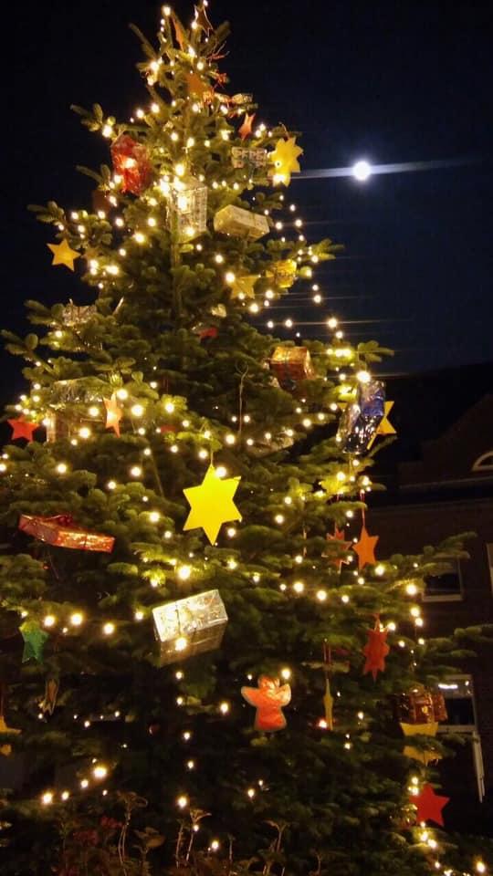 Wann Weihnachtsbaum Aufstellen.Presseartikel Weihnachtsbaum Aufstellen Im Stadtspiegel Stamm Noah
