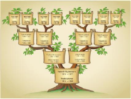 Familienstammbaum Stammbaum Vorlage Zum Ausdrucken