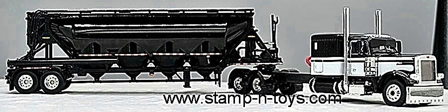 DCP 60-0841 Peterbilt 379 w/J & L Pneumatic Tanker   Stamp-n-Toys