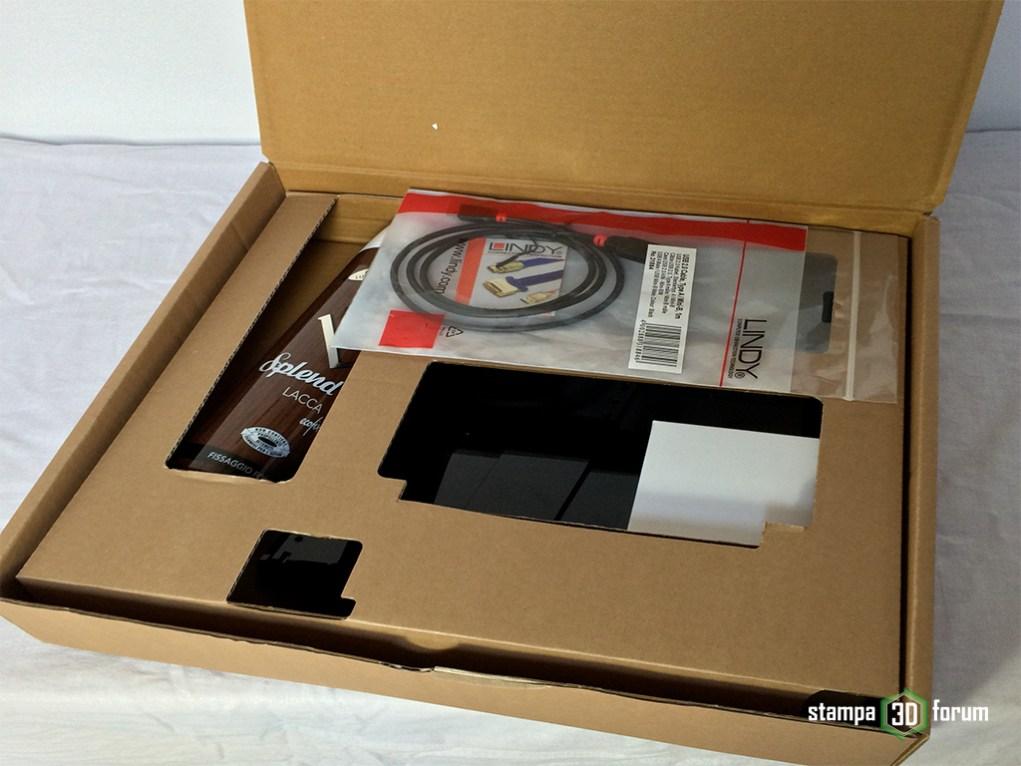 sharebot kiwi 3d recensione unboxing
