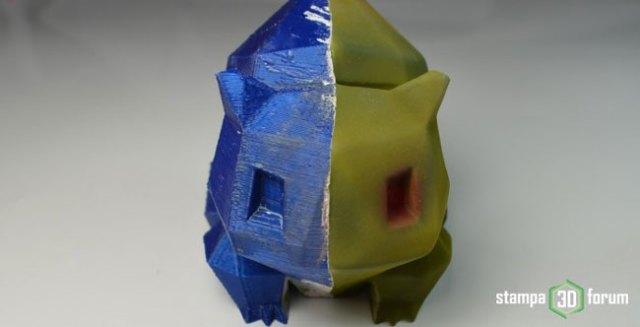 rifinitura post-produzione oggetti stampa 3D
