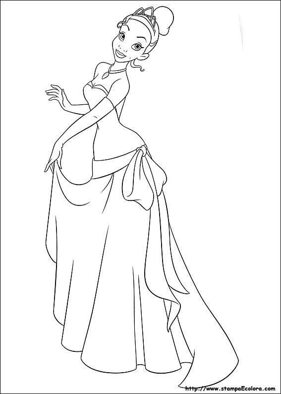 La Princesa Tiana Y El Sapo