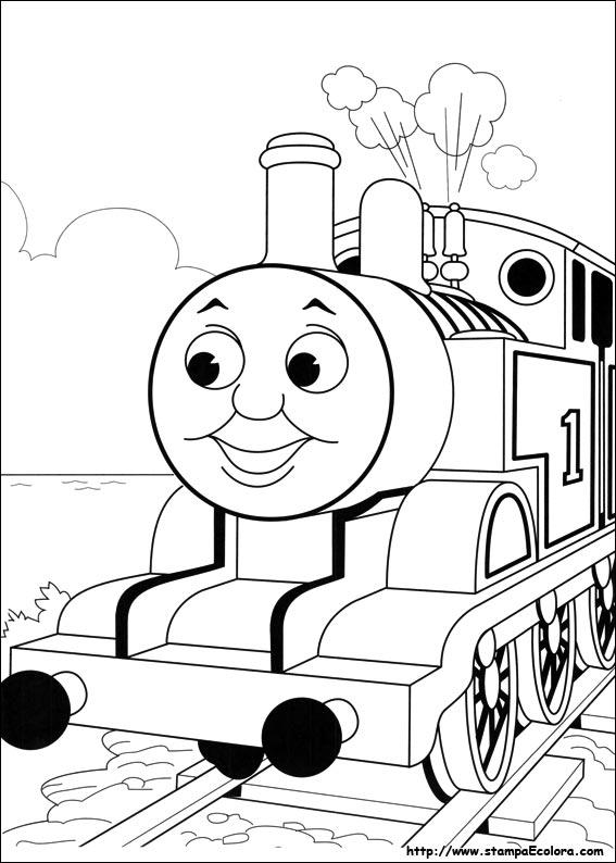 Disegni de Trenino Thomas