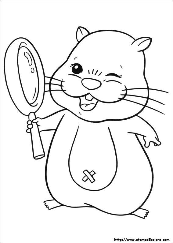 Zu Zu Pets Da Colorare 44 Best Hamster Coloring Pages