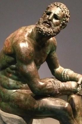 statua del pugile