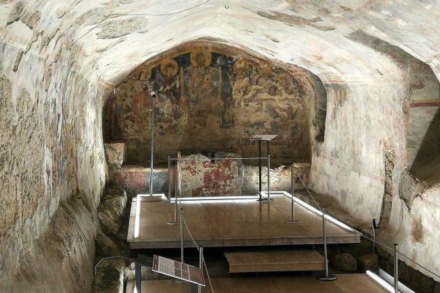 cripte della cattedrale di Anagni