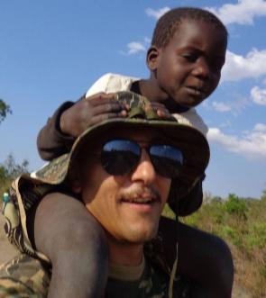 Riccardo Alessandrini in Africa