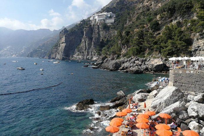 spiaggia La Gavitella a Praiano
