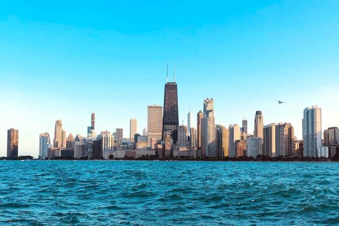Veduta di Chicago