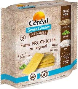 Céréal, fette proteiche ai legumi