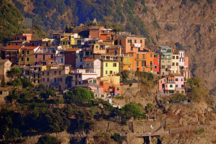 Cinque Terre, borgo di Corniglia