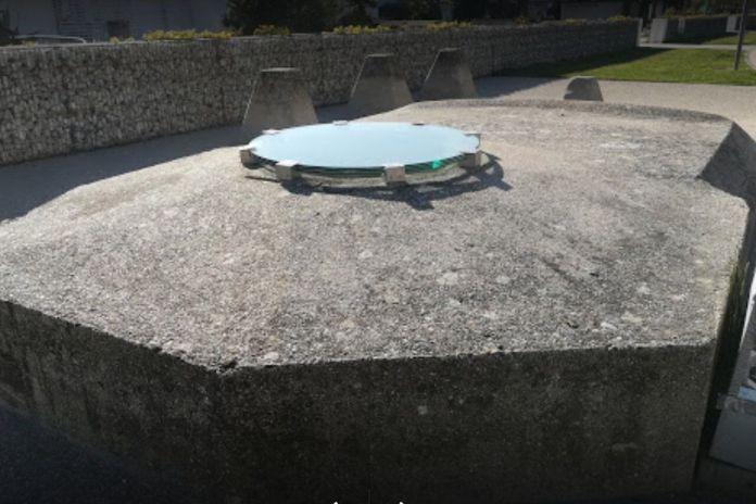 Cervia, esterno di uno dei tre bunker risalenti alla Seconda Guerra Mondiale