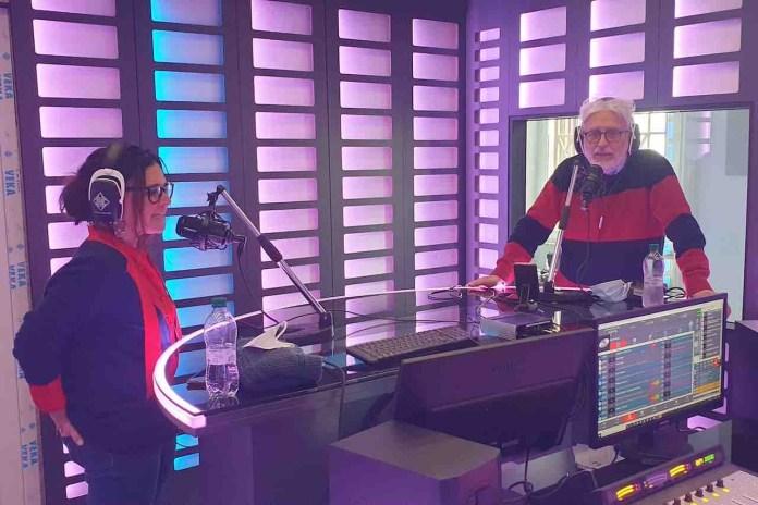 Visit Italy Web Radio, la sala dove si trasmette con i conduttori